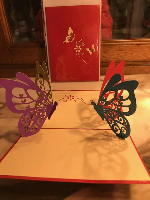 Papillon 2€ moyenne, 4€ grande (Ref : C_01L)