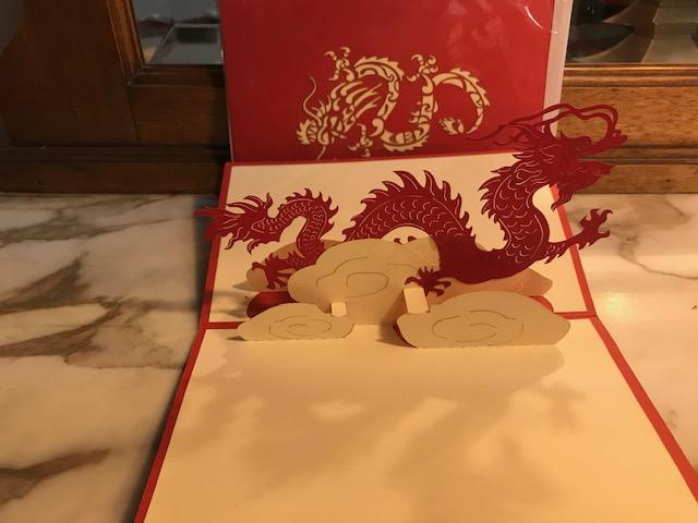 Dragon 2€ moyenne, 4€ grande (Ref : C_01B)