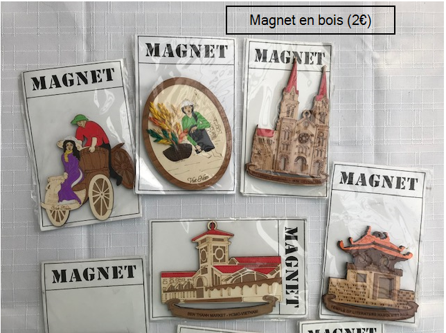 Magnets 2€ (Ref : G_01A)