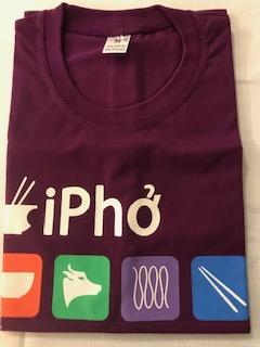 T-Shirts imprimés I Pho VietNam 6€ (Ref : H_01C)