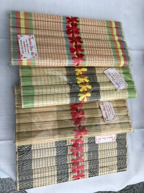 Set de table bambou 8€ (Ref : M_03)